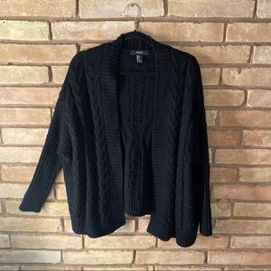 Forever 21 open knit cardigan